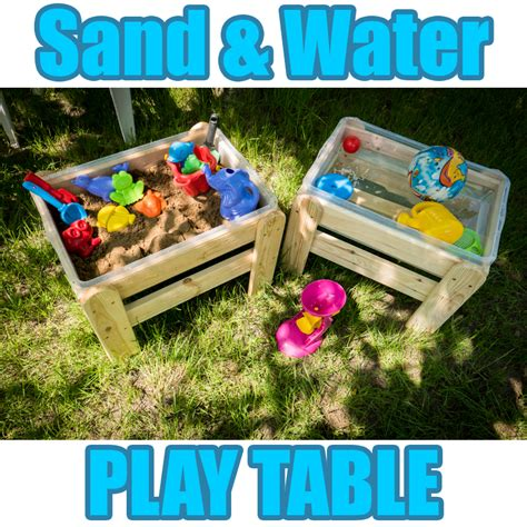 indoor sand and water table wooden sand water sandpit play table garden indoor