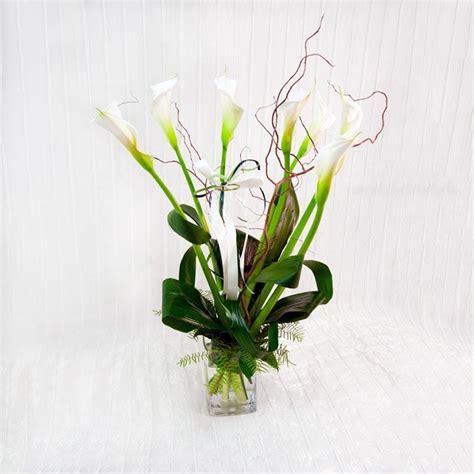 fiori calle bianche mazzo di calle bianche fiorista della santa
