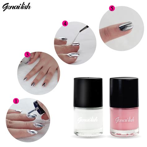 easy clean up nail art genailish peel off nail liquid polish shield protector