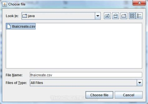 csv format exle java how to use java gui import csv text to database