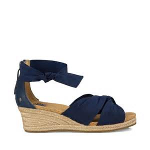 Comfort Wedge Sandals Navy Espadrille Wedge Sandal Starla Free Shipping On