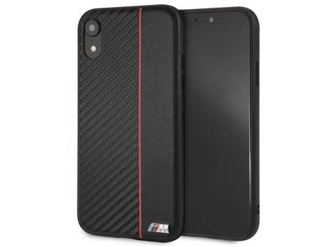 bmw  sport hard case rood iphone xr hoesje