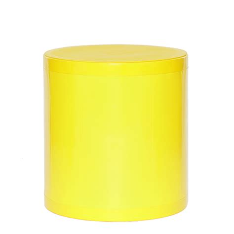 Yellow Solid Stool otto storage stool solid yellow
