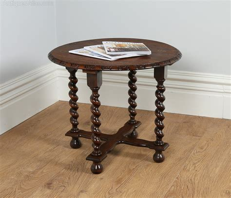jacobean style oak coffee table circa 1920 antiques atlas