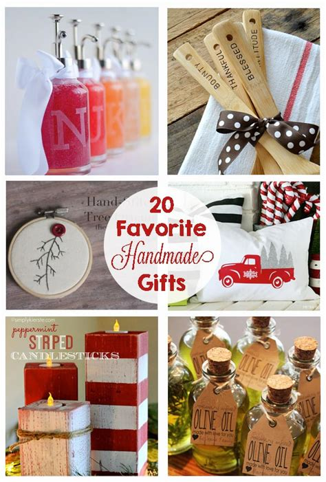 favorite handmade christmas gifts  crafting chicks