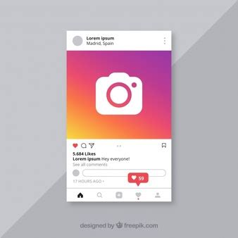 Instagram Frame Vectors Photos And Psd Files Free Download Instagram Post Template