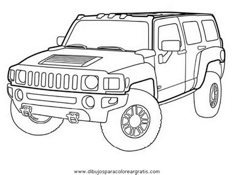 army hummer coloring pages medios trasporte coches hummer 2 jpg