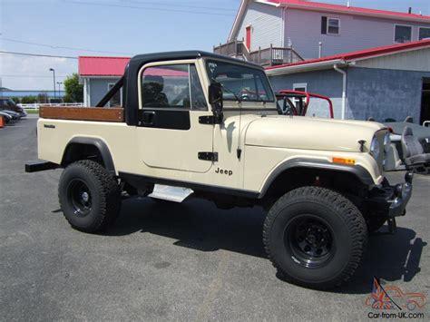 cj8 jeep 1984 jeep cj8 scrambler