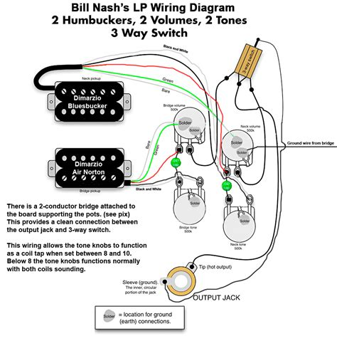 les paul standard wiring diagram nash les paul style wiring diagram mylespaul com