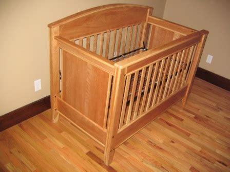 wood crib plans   build diy woodworking blueprints