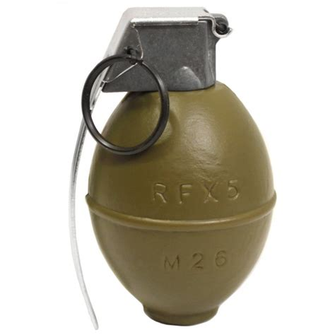 Dummy Replika M26 Frag Grenade g g replica m18 smoke grenades airsoft grenades airsoft bb containers