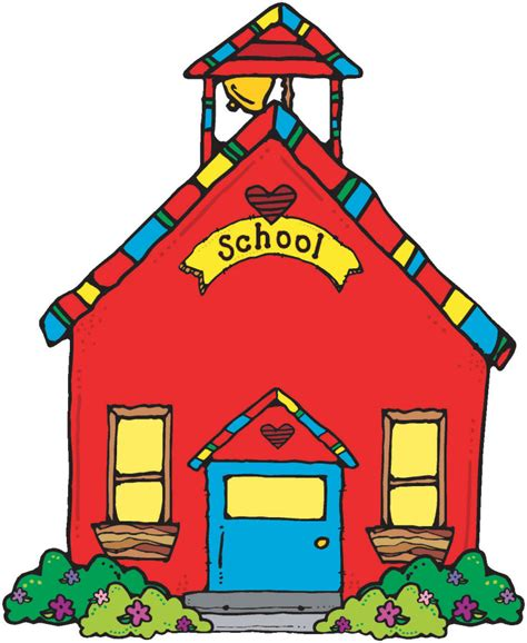free clipart house school house clip clipartion