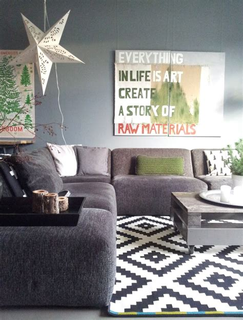 rug for gray couch family room gray couch and wall grey couch pinterest