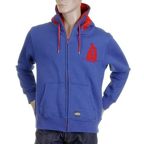 Hoodie Flock Martin Garry rmc mkws mens hooded sweatshirt in royal blue at togged
