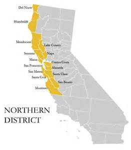 northern district of california map jurisdiction map united states district court northern