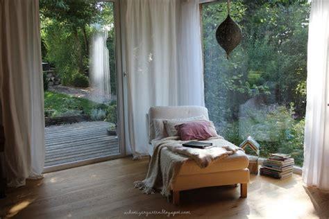 Vorhänge Eckfenster by Ein Schweizer Garten Das Lieblingsfenster