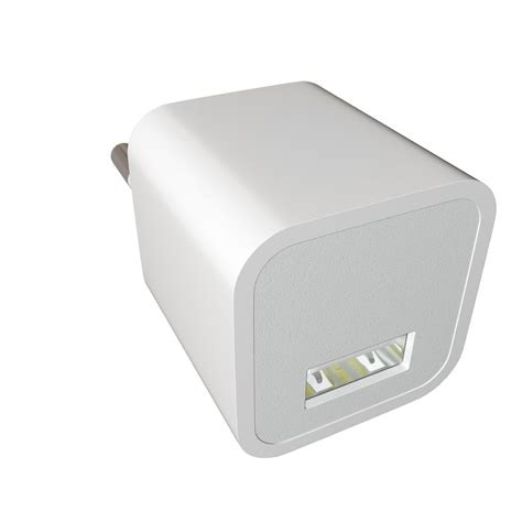 Apple 5w Usb Power Adapter apple 5w usb power adapter 3d model max fbx cgtrader
