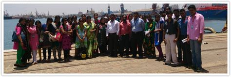 Mba Part Time In Chennai by Industrial Visit To Chennai Port Trust Srm