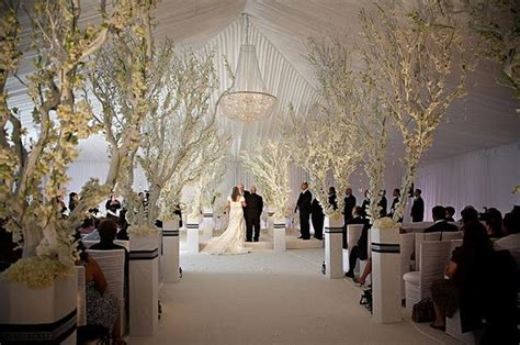 winter wedding aisle decorations beautiful for an indoor winter wedding aisle decor
