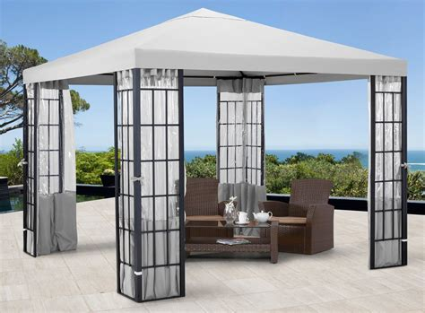 gartenpavillon aluminium aluminium pavillon sonstige preisvergleiche