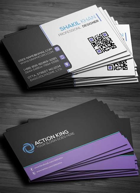 business cards psd templates free 15 free business cards psd templates freakify