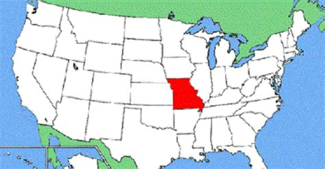 missouri map and surrounding states map missouri and surrounding states swimnova