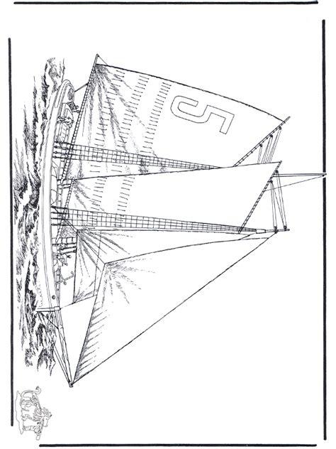 segelboot  malvorlagen schiffe