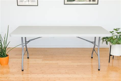 how much weight does a portable table hold the best folding tables reviews by wirecutter a