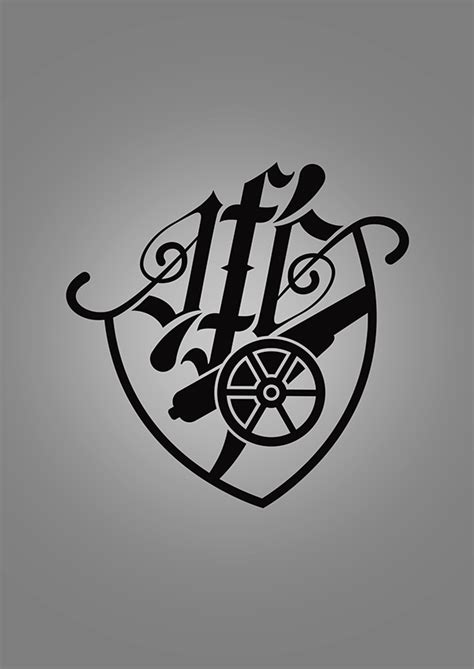 arsenal fc tattoo designs arsenal fc logo rethink on behance
