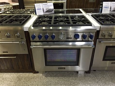 thermador appliances reviews thermador 36 quot pro dual fuel range and