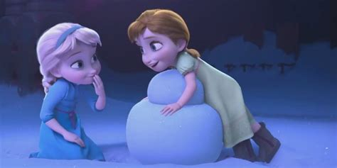 frozen cartoon film 2 frozen do you want to build a snow nearly cut from