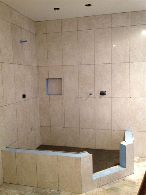 vertical bathroom tiles vertical shower tile in a straight lay powder rooms