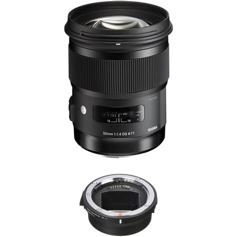 Sigma 50mm F 1 4 Dg Hsm sigma 50mm f 1 4 dg hsm lens for canon ef and mc 11 mount