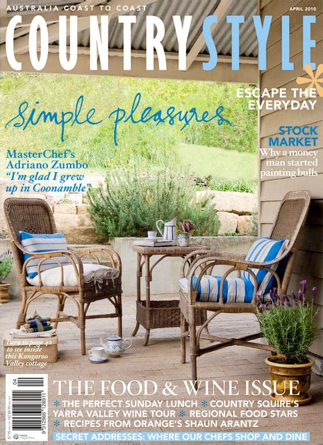 country style magazine on sale now australian country style magazine april 2010
