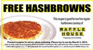 Waffle House Gift Card Kroger - free hashbrowns at waffle house i crave freebies