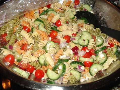 Recipes For Pasta Salad | pasta salad recipes types primavera bake shapes carbonara
