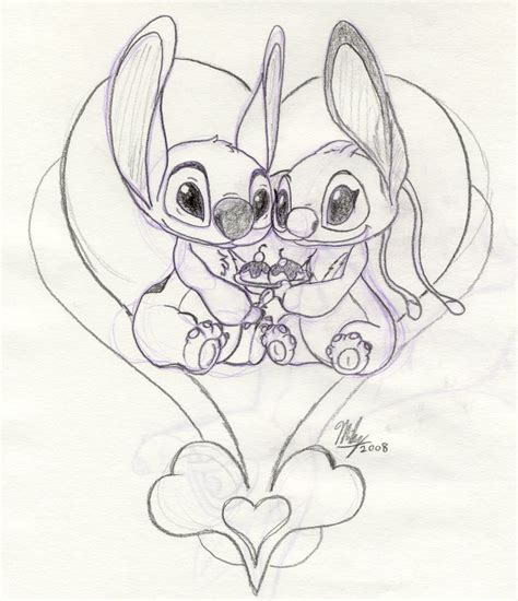 request stitch and angel by stitchfan on deviantart