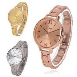 Jam Geneva Luxury Thin Stainless Steel Band Analog Quartz Wrist geneva slim luxury stainless steel band analog quartz wrist watches