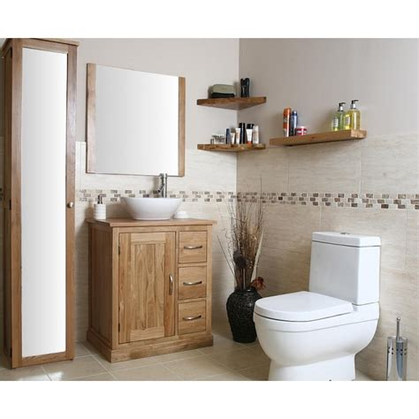 mobel light oak bathroom vanity cabinet with storage