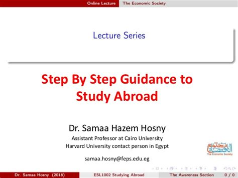 Harvard Mba Study Abroad by Step By Step Guidance To Study Abroad
