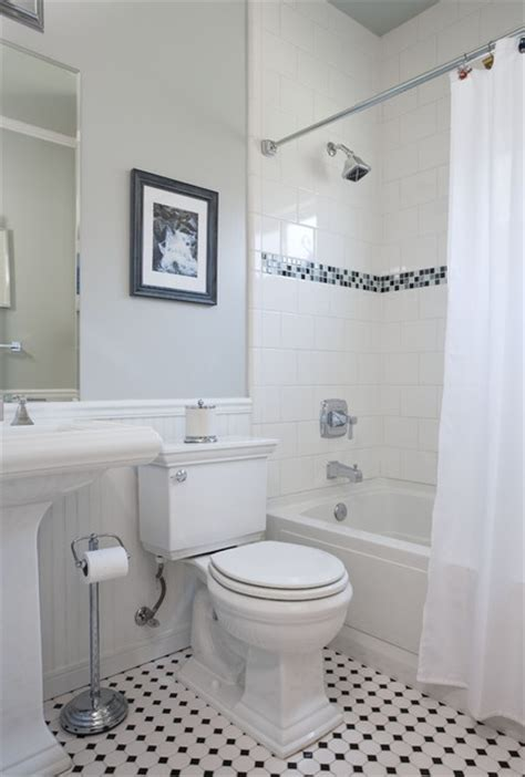 Vintage Black And White Bathroom Ideas Vintage Bathroom Traditional Bathroom San Francisco