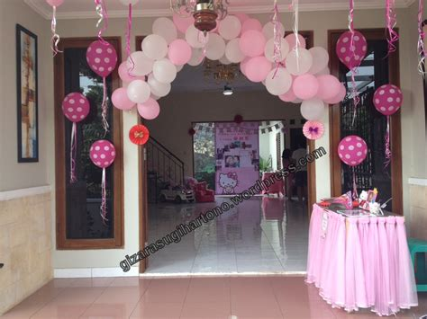 Dekorasi Ruang Tempelan Happy Birthday Ulang Tahun Acara Dekor tips ulang tahun anak gizarasugihartono
