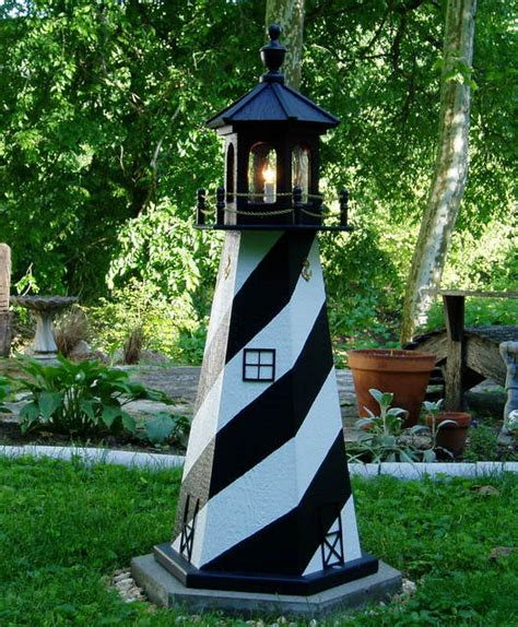 Backyard Lighthouse by Outdoor Lighthouses Amish Lighthouses