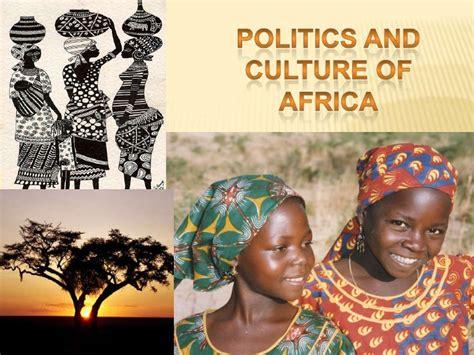 politics and culture africa