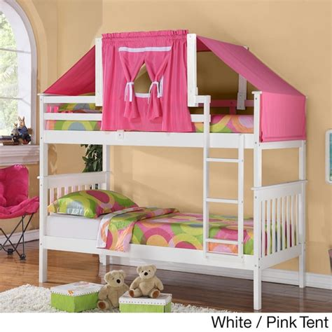 Overstock Bunk Beds Donco Mission Tent Bunk Bed Free Shipping Today Overstock 15951061