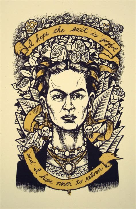 Frida Kahlo Living Series frida kahlo last words no 1 second edition print
