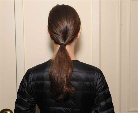 Low Ponytail Hairstyles by Low Ponytail Trend 11 Looks To Try Out On Your Hair
