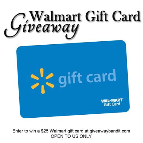 Walmart Gift Card Contest - this or that giveaway hop the bandit lifestyle