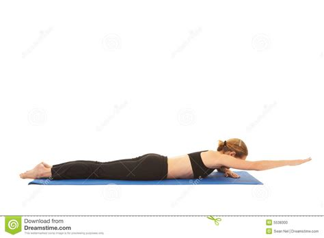 Pilates Mat Series by Pilates Exercise Series Stock Photo Image 5538300