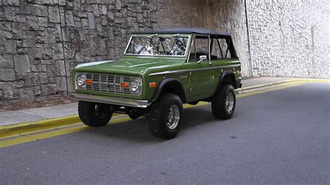 ford bronco for sale 1974 ford bronco for sale youtube